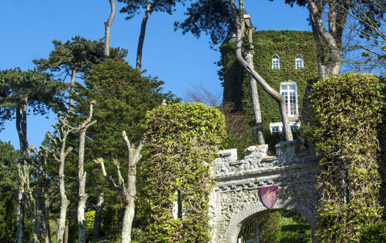 Golf-Expedition-Golf-Reizen-Frankrijk-Regio-Normandië-Domaine-Saint-Clair-kasteel-bomen