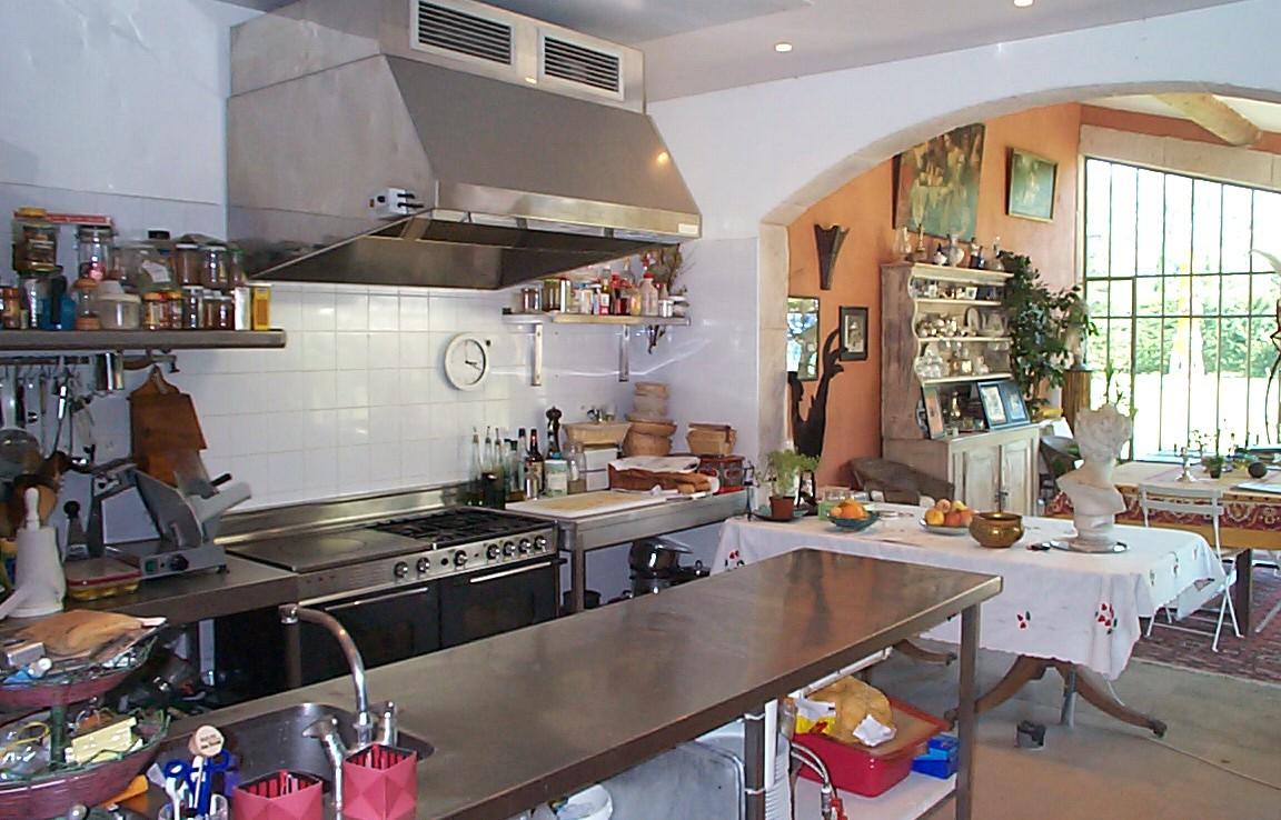 Golf-Expedition-Golf-Reizen-Frankrijk-Regio-Provence-Bastide-Rose-keuken
