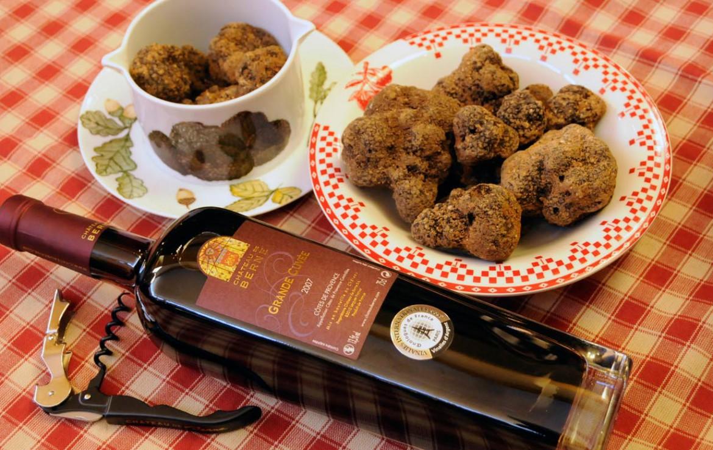 Golf-Expedition-Golf-Reizen-Frankrijk-Regio-Provence-Chateau-de-Berne-wijn-eten