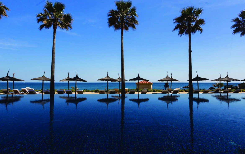 Golf-Expedition-Golf-reizen-Spanje-Regio-Malaga-Finca-Cortesin-Hotel-Golf-&-Spa-pool-with-view