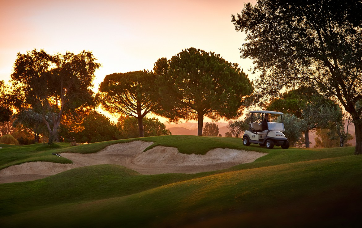 Golf-Expedition-Golf-reizen-Spanje-Regio-Malaga-La-Cala-Resort-golf-at-sunset