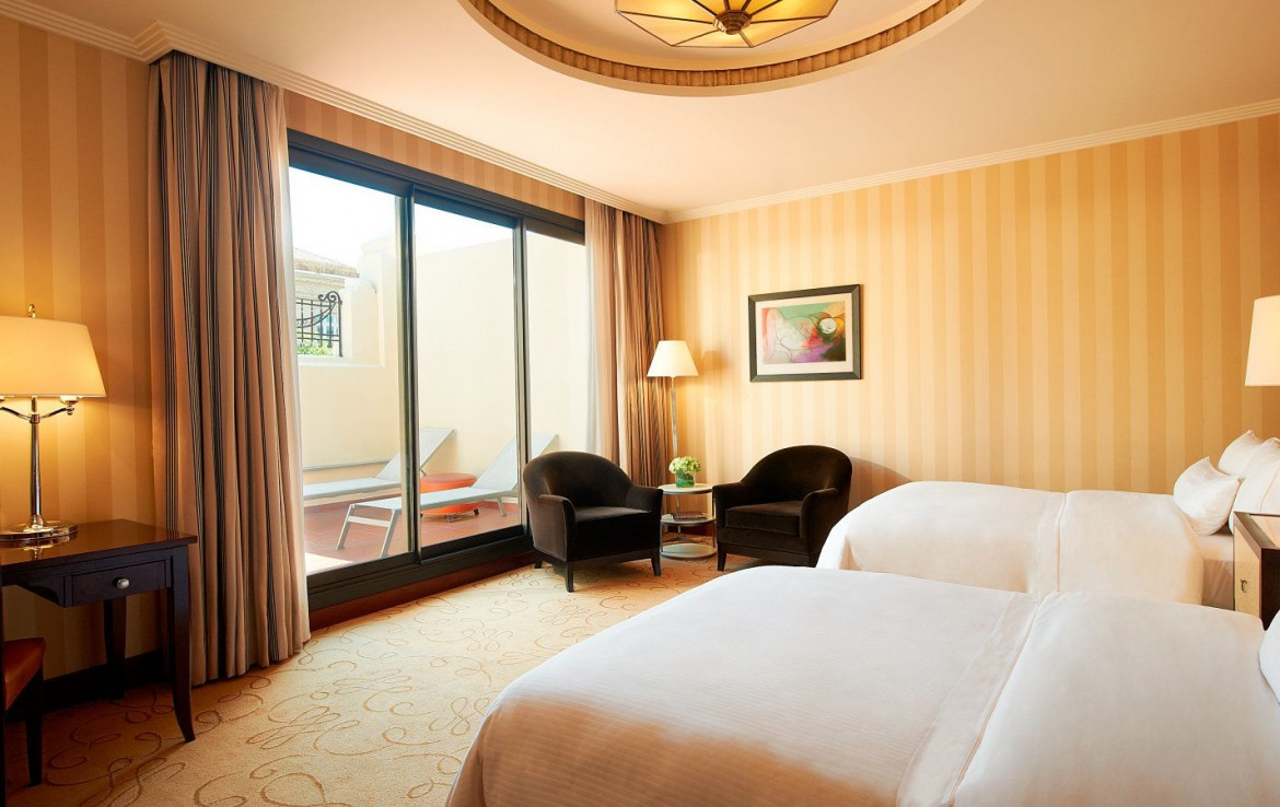 Golf-Expedition-Golf-reizen-Spanje-Regio-Valencia-The-Westin-Valencia-twin-bedroom-deluxe