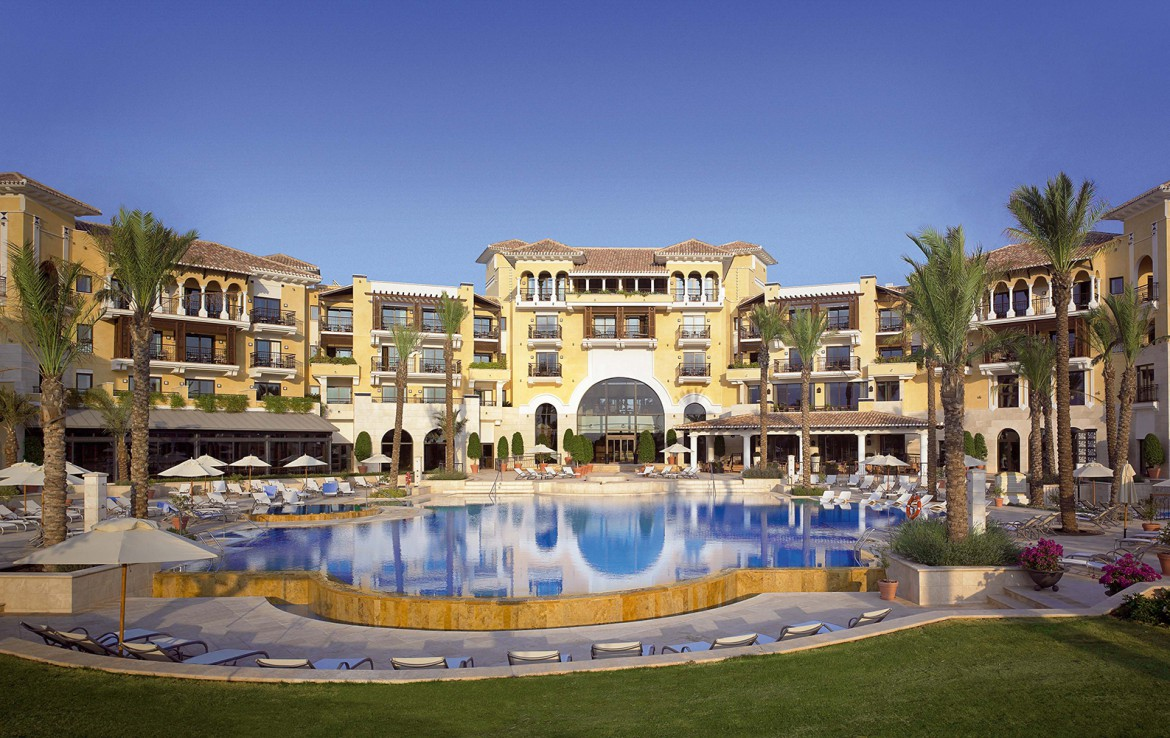 Golf-Expedition-Golf-reizen-Spanje-Regio-Valencia-intercontinental-Mar-Menor-Golf-Resort-&-Spa-front-view