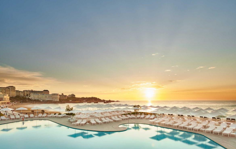 Golf-Reizen-Golf-Expedition-Frankrijk-Regio-Aquitaine-Hotel-du-Palais-Sunset