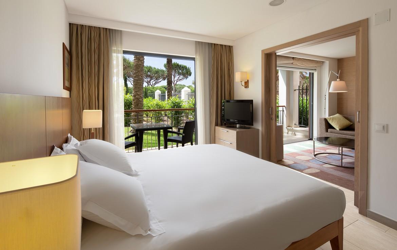 Golf-expedition-golfreizen-golfresort-Hilton-Vilamoura-As-Casatas-Golf-Resort-&-Spa-appartement-bedroom-4