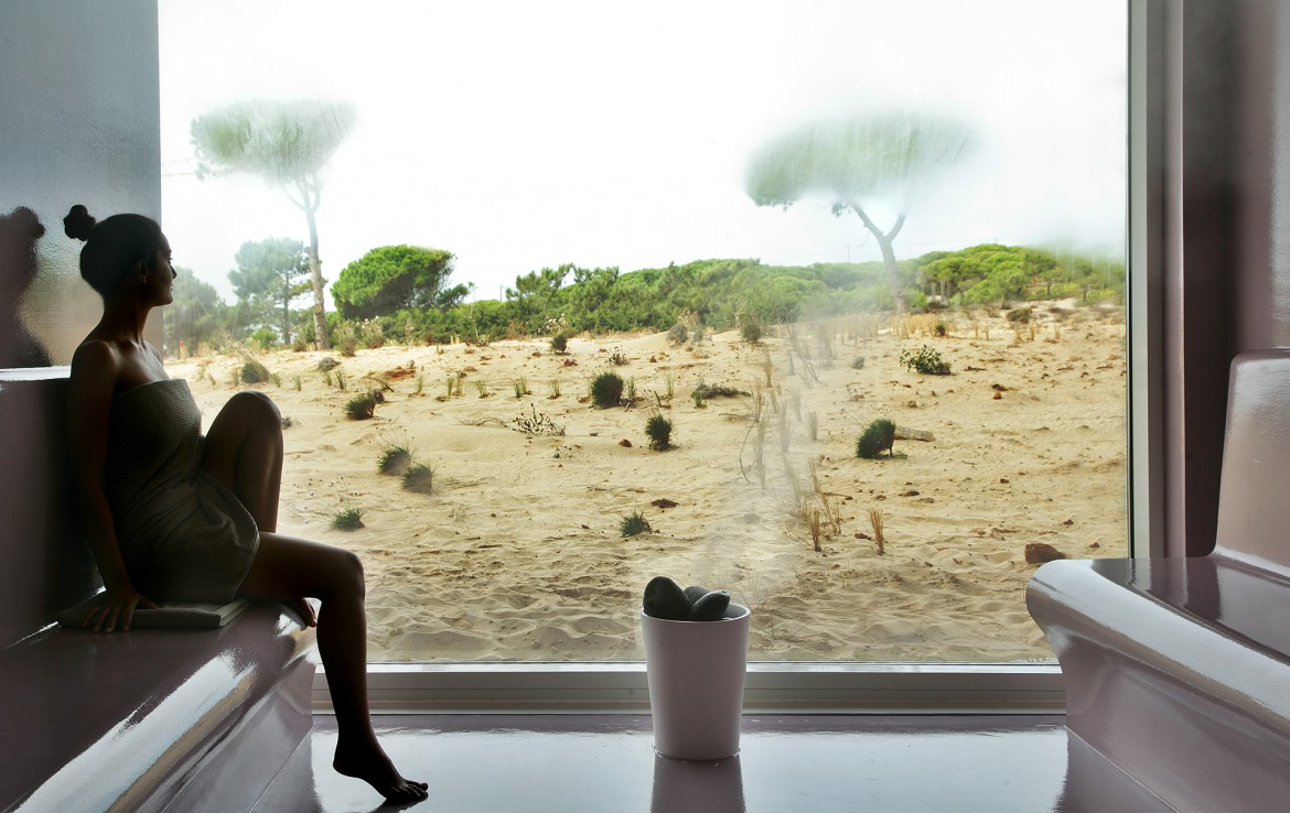 Golf-expedition-golfreizen-golfresort-Royal-The-Oitavos-Hotel-spa-turkish-bath-with-nature-view