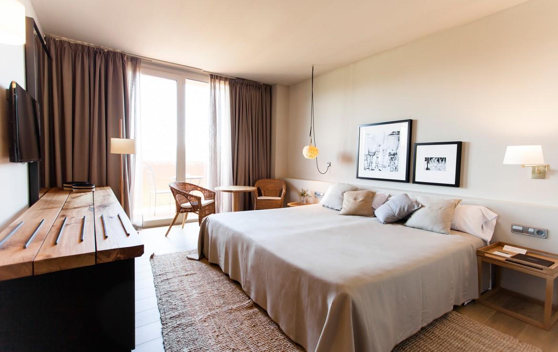 Golf-expedition-golfreizen-golfresort-Spanje-Regio-Ginora-hotel-peralada-wine-spa-and-golf-appartement-bedroom-2