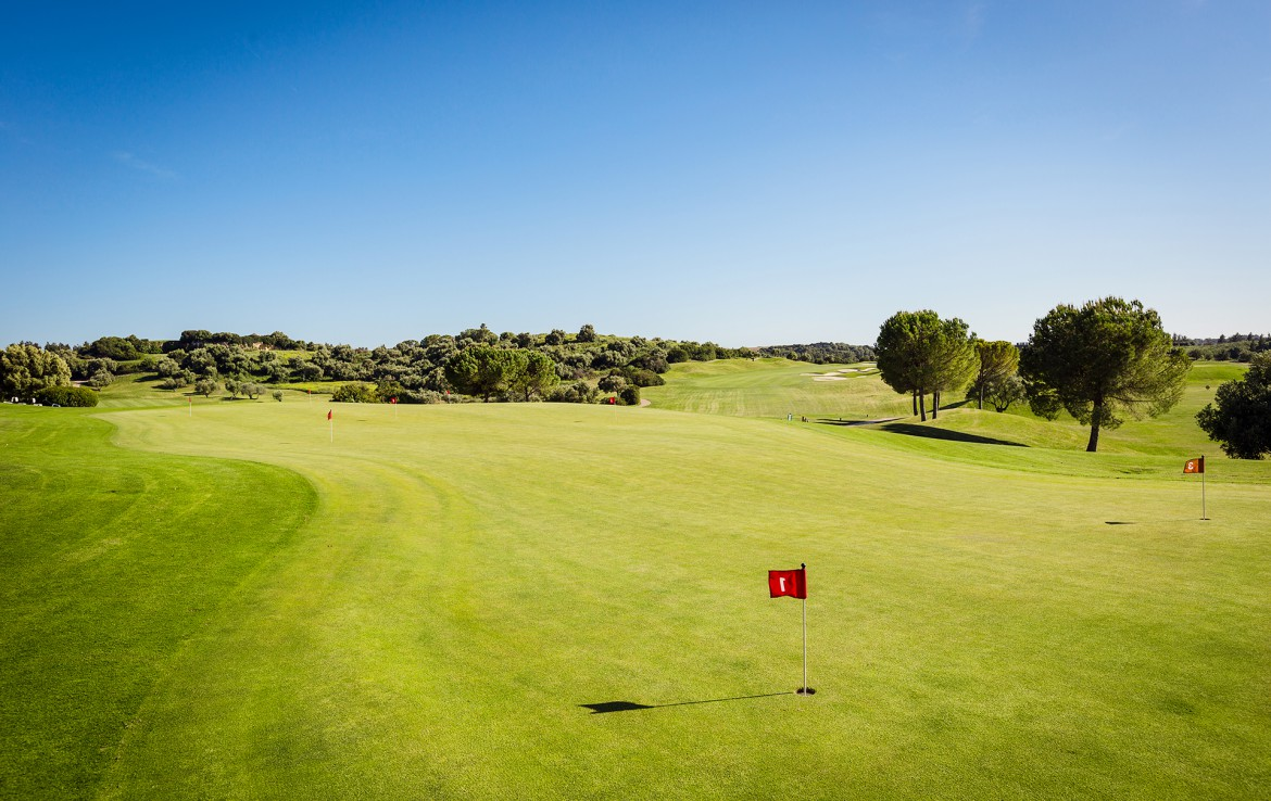 Golf-expedition-golfreizen-golfresort-Spanje-Regio-huelva-barcelo-montecastillo-golf-resort-campo-de-golf-putting-green