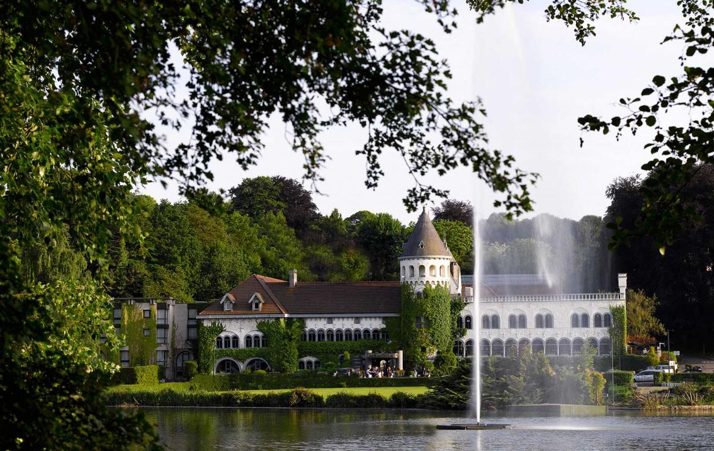 Golf-reizen-Golf-Expedition-België-Regio-Brussel-Martins-Chateau-du-Lac-fountain