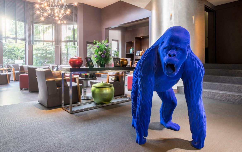 Golfexpedition-Golfreizen-België-Brussel-Brussels-course-gorilla-blauw