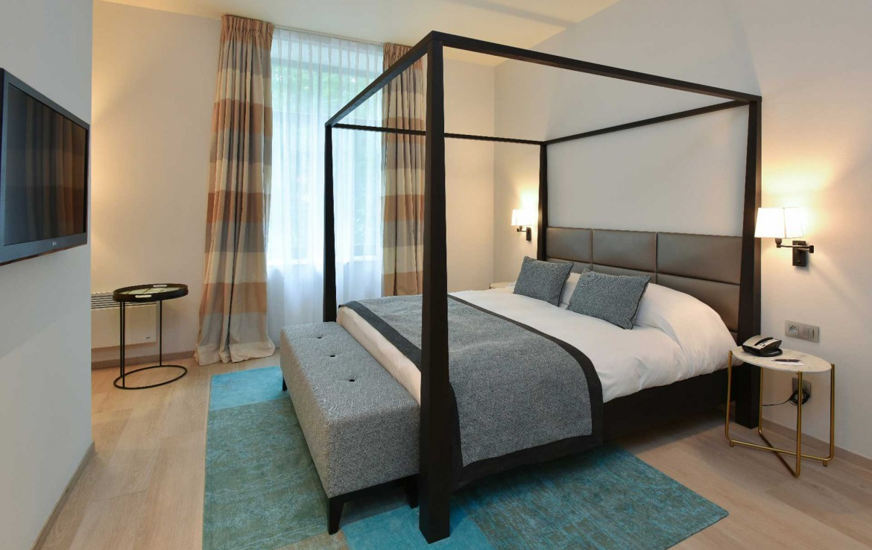 Golfexpedition-Golfreizen-België-Brussel-Grand-Hotel-Waterloo-course-twee-persoons-bed