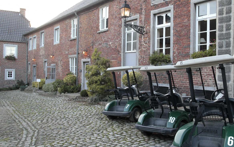 Golfexpedition-Golfreizen-België-Brussel-Pierpont-hotel-with-buggies