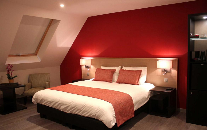 Golfexpedition-Golfreizen-België-Brussel-Relais-de-L-Empereur-course--Slaapkamer