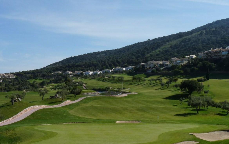 golf-expedition-golf-reis-spanje-Regio-Malaga-Alhaurin-Golf-Resort-golfbaan-zanpool-bomen-mooi