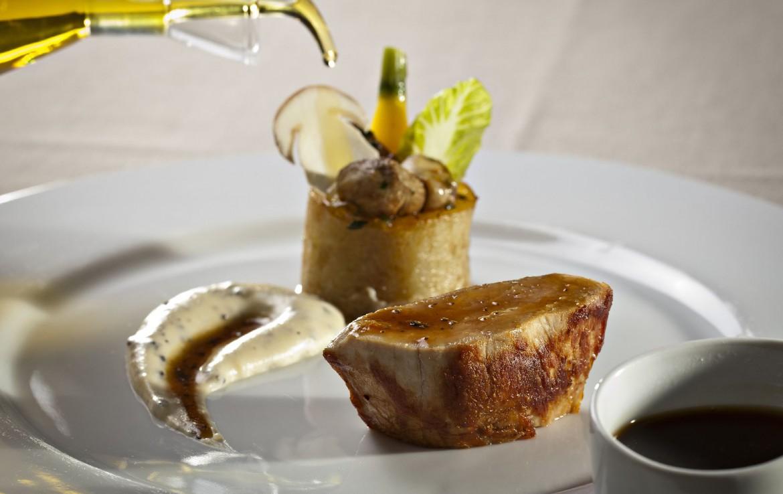 golf-expedition-golf-reizen-Frankerijk-regio- Provence-Hotel-du- Castellet-voedsel-gerecht-eten-ollie-dessert