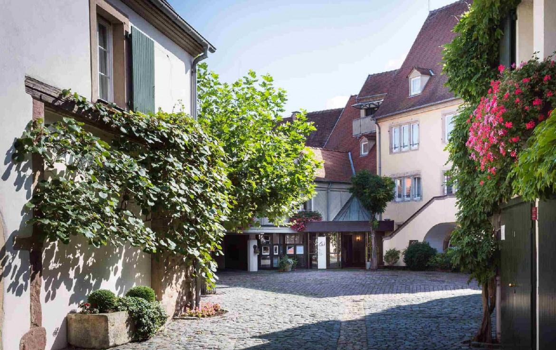 golf-expedition-golf-reizen-frankrijk-regio-elzas-hotel-a-la-cour-d'alsace-hotel-entree